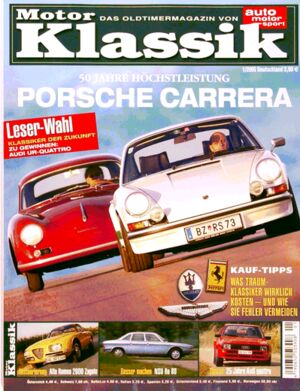 Titel Motor Klassik, Heft 01/2005