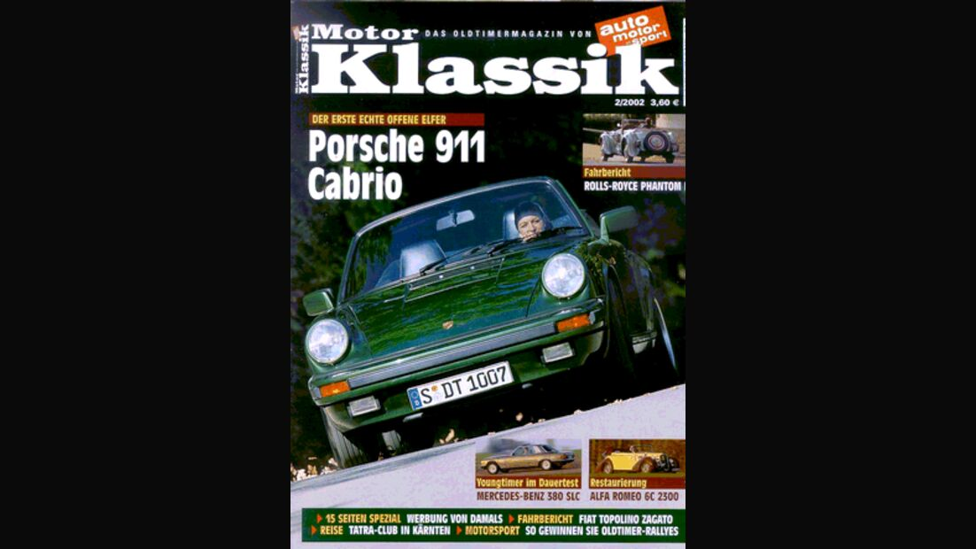 Titel Motor Klassik, Heft 02/2002