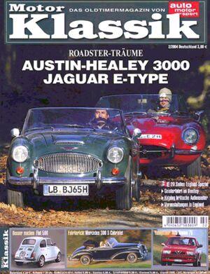 Titel Motor Klassik, Heft 02/2004