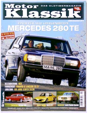 Titel Motor Klassik, Heft 02/2005