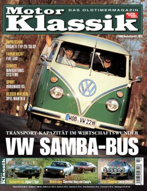 Titel Motor Klassik, Heft 02/2006