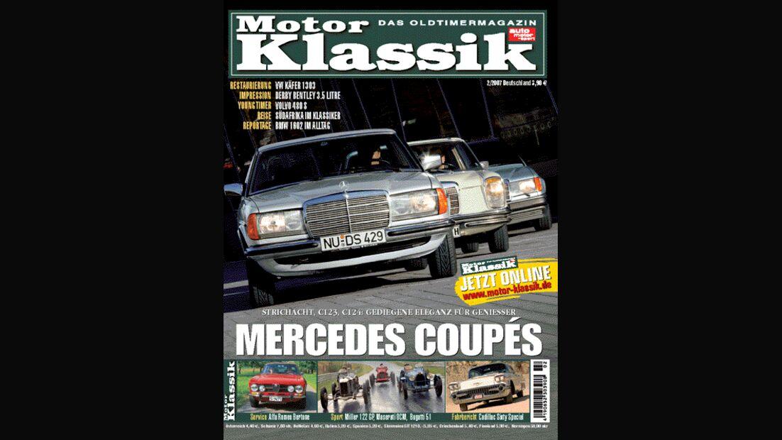Titel Motor Klassik, Heft 02/2007
