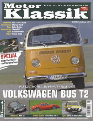 Titel Motor Klassik, Heft 02/2008