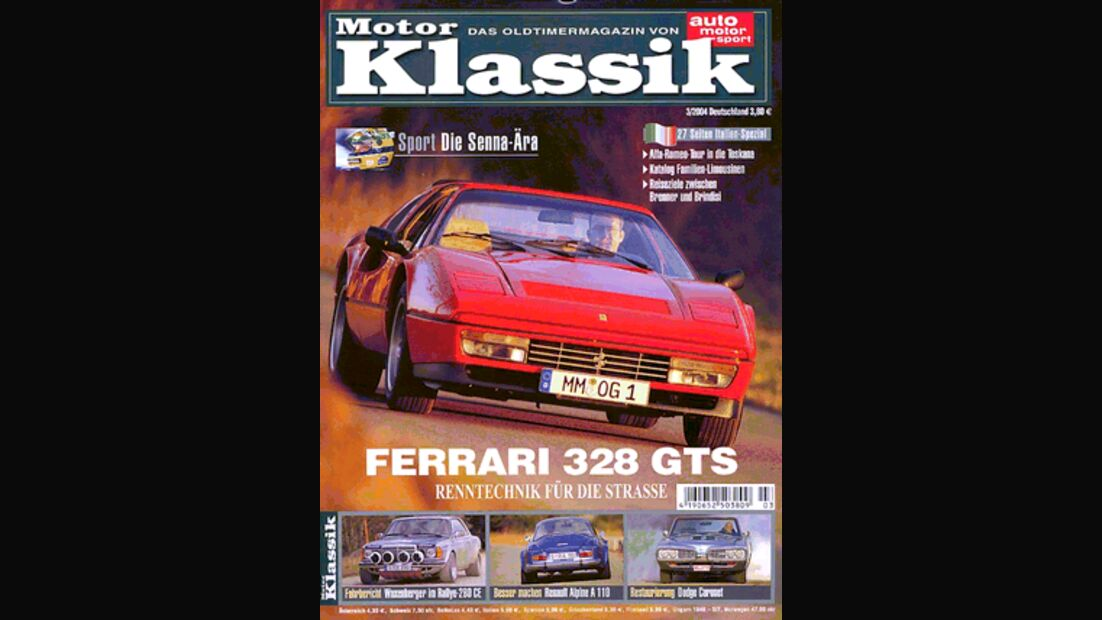 Titel Motor Klassik, Heft 03/2004