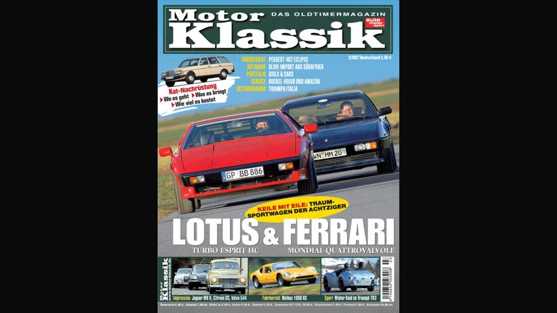 Titel Motor Klassik, Heft 03/2007