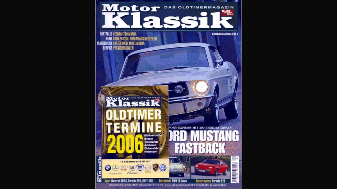 Titel Motor Klassik, Heft 04/2006