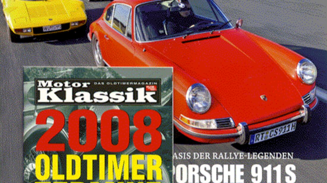 Titel Motor Klassik, Heft 04/2008
