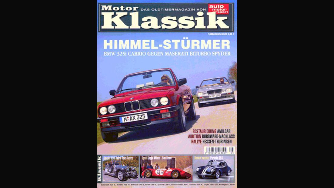 Titel Motor Klassik, Heft 05/2004