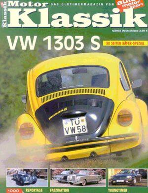 Titel Motor Klassik, Heft 06/2002