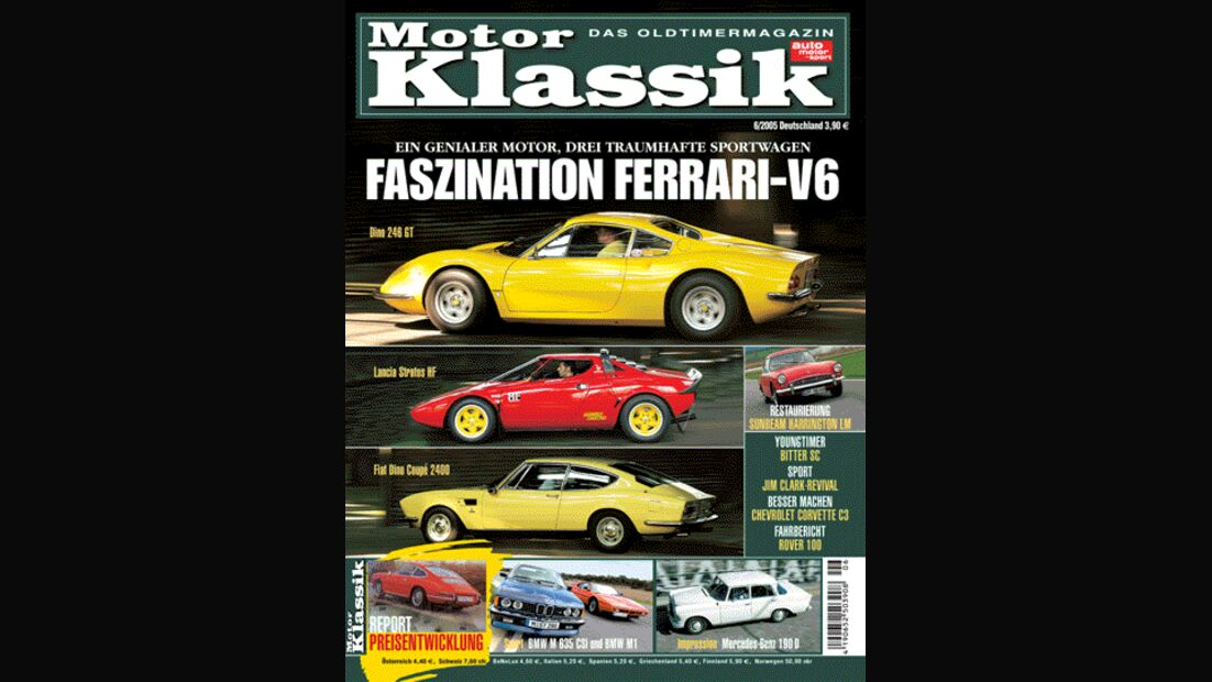 Titel Motor Klassik, Heft 06/2005