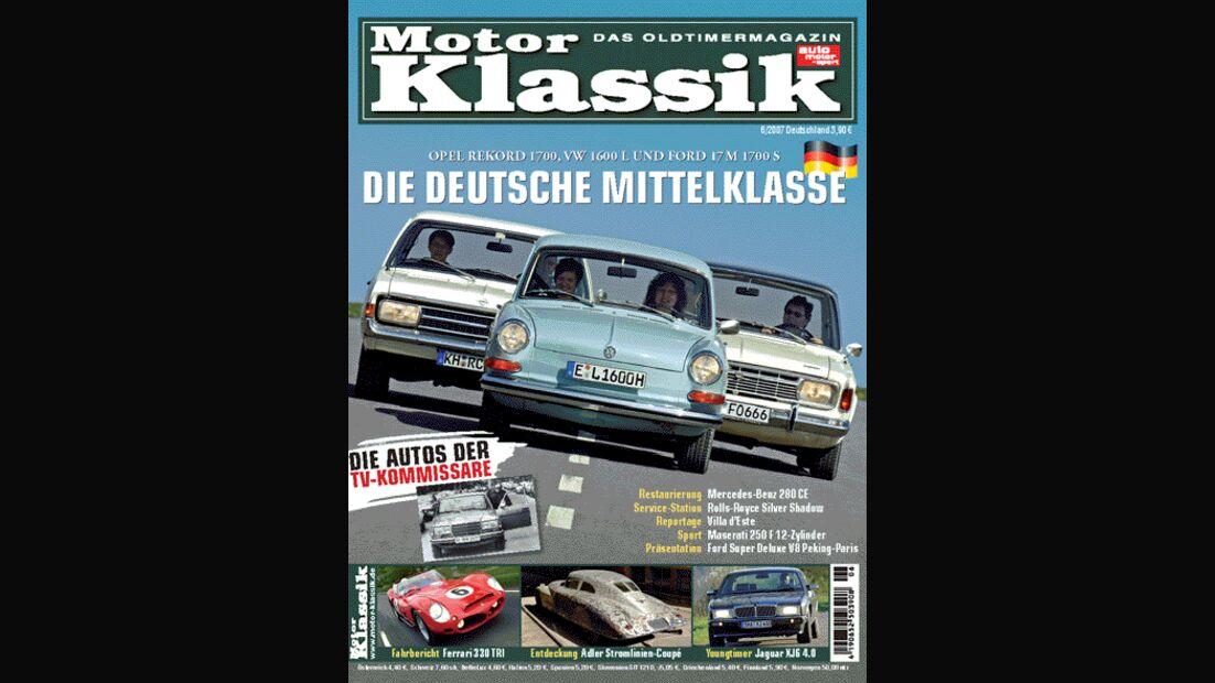 Titel Motor Klassik, Heft 06/2007