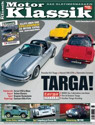 Titel Motor Klassik, Heft 06/2010