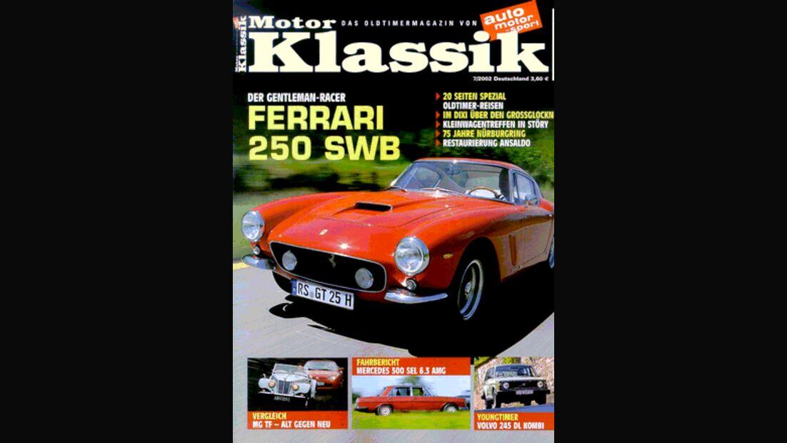 Titel Motor Klassik, Heft 07/2002