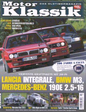 Titel Motor Klassik, Heft 07/2006