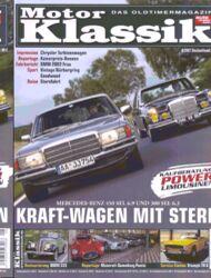 Titel Motor Klassik, Heft 08/2007