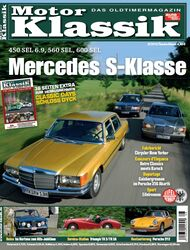 Titel Motor Klassik, Heft 08/2010