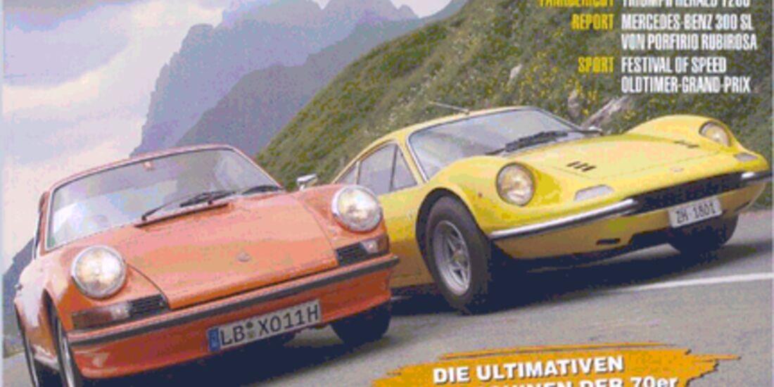 Titel Motor Klassik, Heft 09/2006