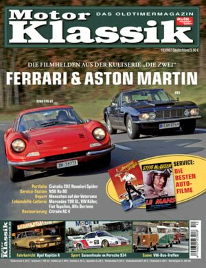 Titel Motor Klassik, Heft 12/2007