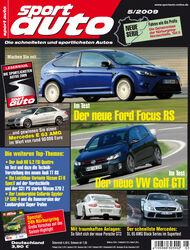 Titel Sport Auto Heft 05/2009