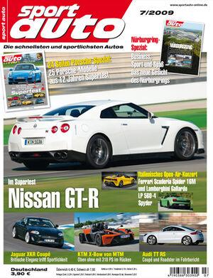 Titel Sport Auto, Heft 07/2009