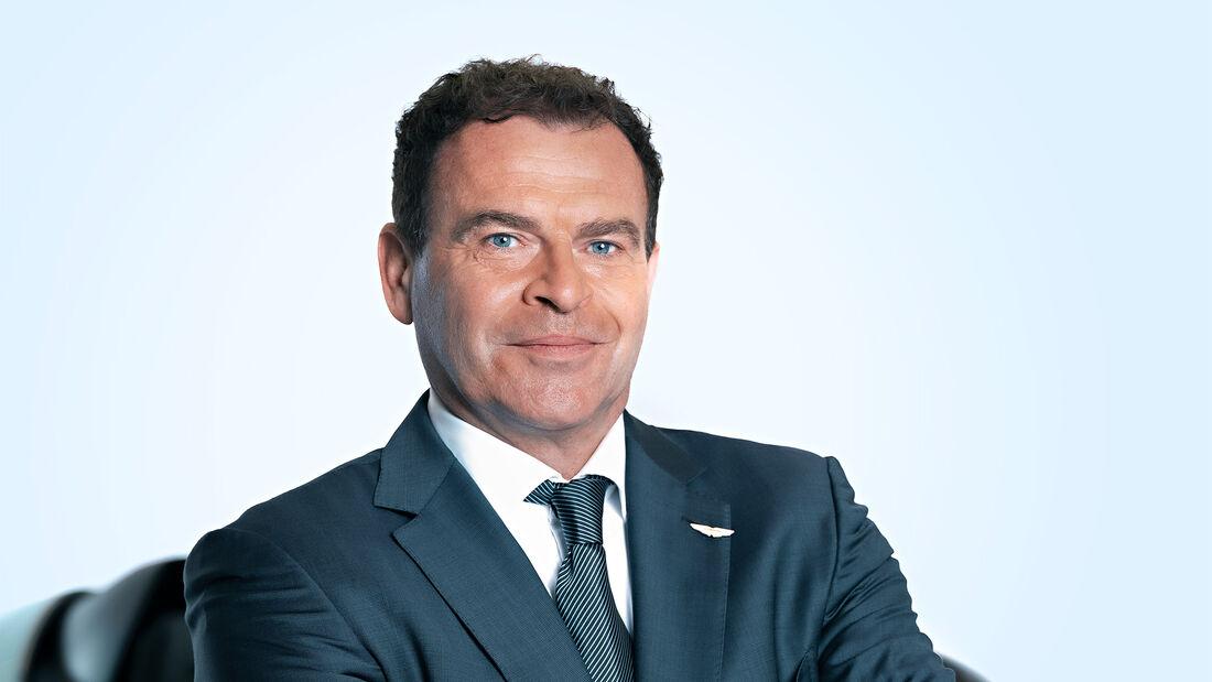 Tobias Moers, CEO von Aston Martin