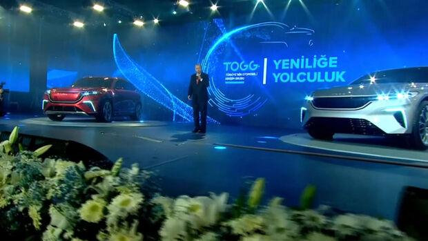 Togg Türkei Elektroauto SUV Limousine