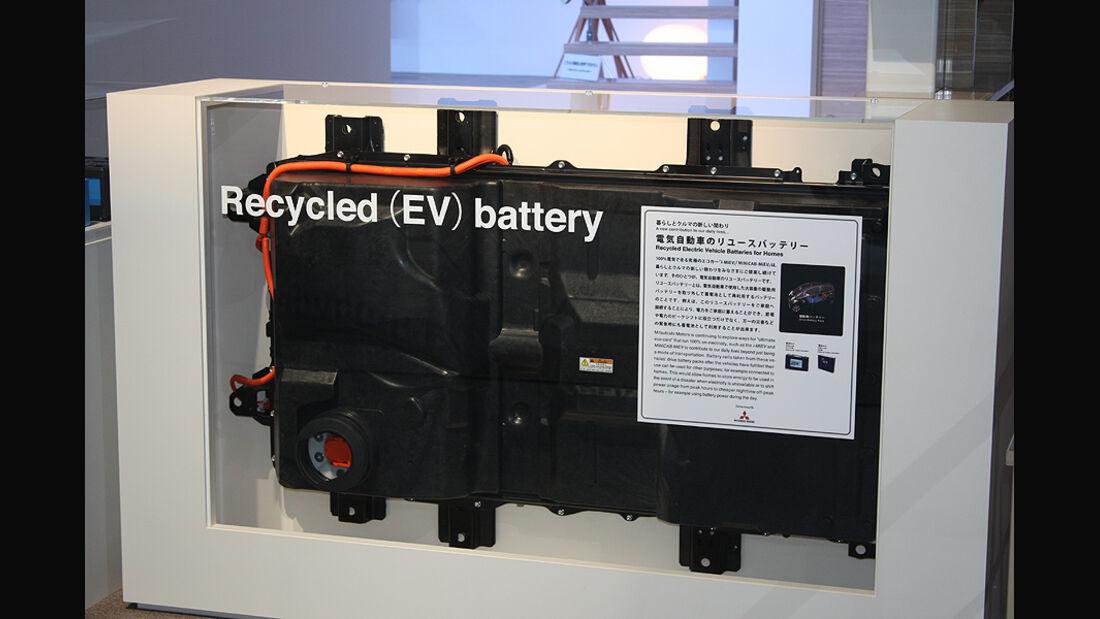 Tokio Motor Show 2011, Ausrangierte Batterie