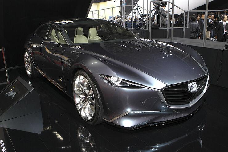 Tokio Motor Show 2011, Impressionen, Mazda Takeri