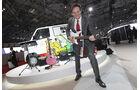 Tokio Motor Show 2011, Impressionen, Mitsubishi E-Gitarre