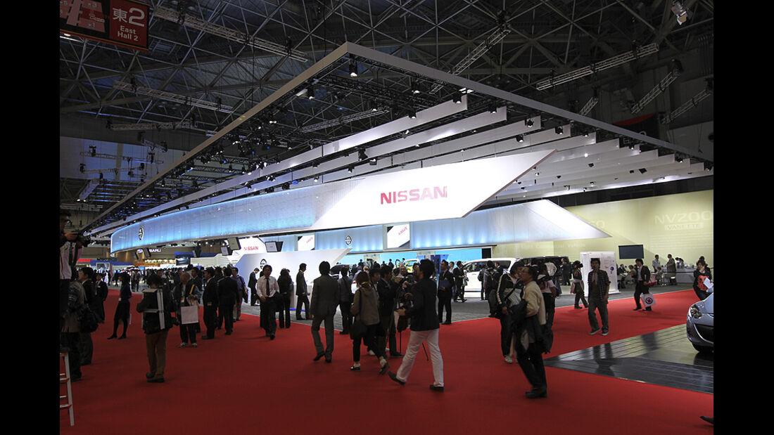 Tokio Motor Show 2011, Impressionen, Nissan