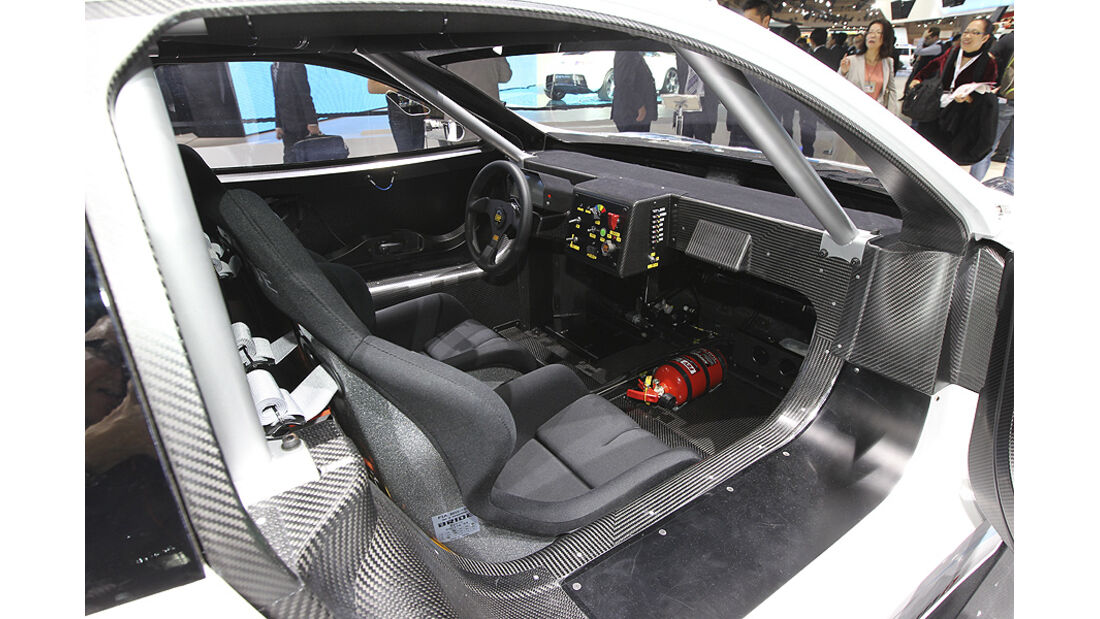 Tokio Motor Show 2011, Impressionen, Nissan Nismo RC, Innenraum