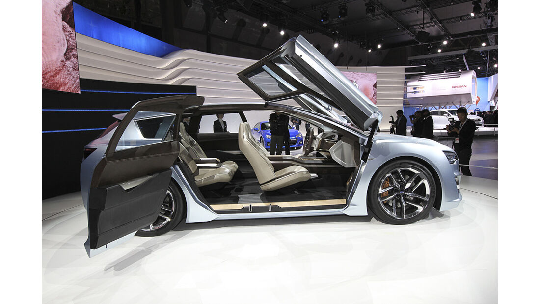 Tokio Motor Show 2011, Impressionen, Subaru Advanced Tourer Concept, Innenraum