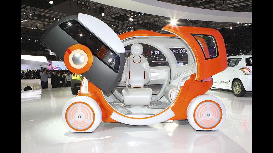Tokio Motor Show 2011, Impressionen, Suzuki Q-Concept