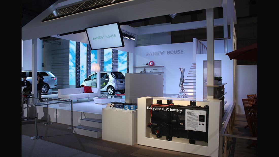 Tokio Motor Show 2011, Mitsubishi MiEV-Haus