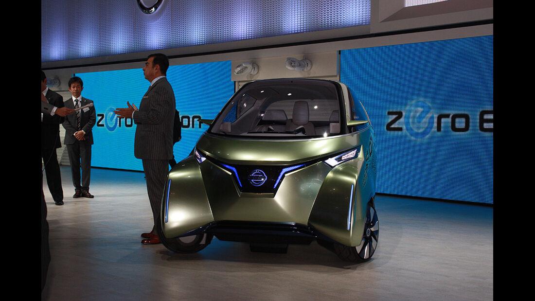 Tokio Motor Show 2011, Nissan Pivo III