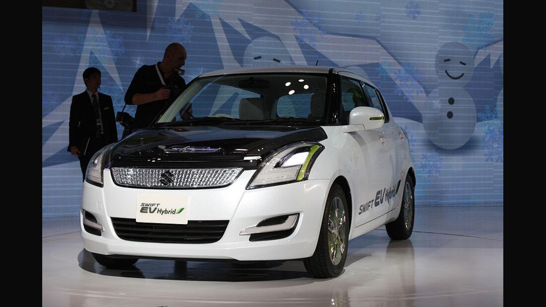 Tokio Motor Show 2011, Suzuki Swift EV Hybrid