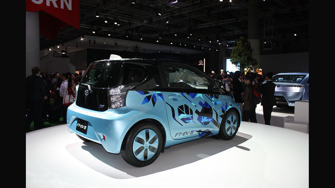 Tokio Motor Show 2011, Toyota FT-EV III