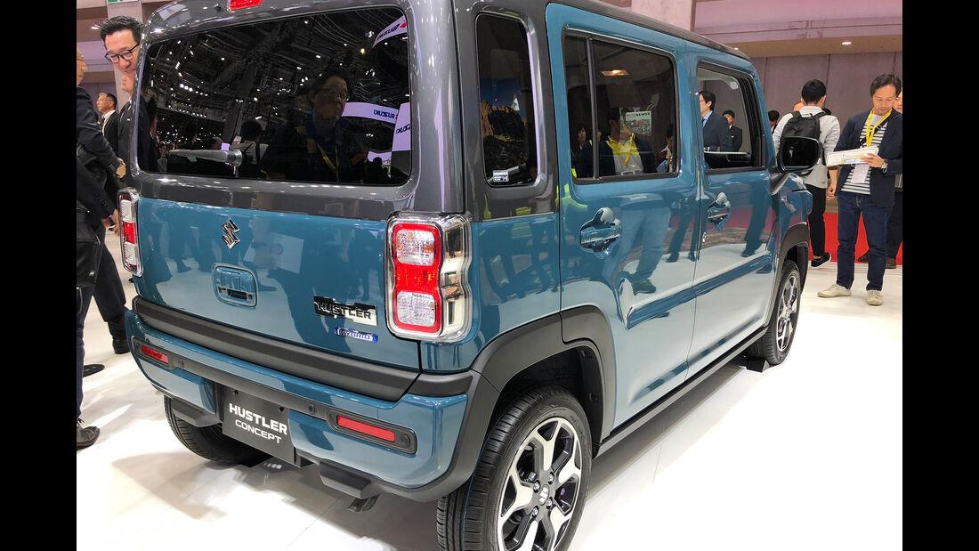 Tokio Motor Show 2019 Autos Würfel Design