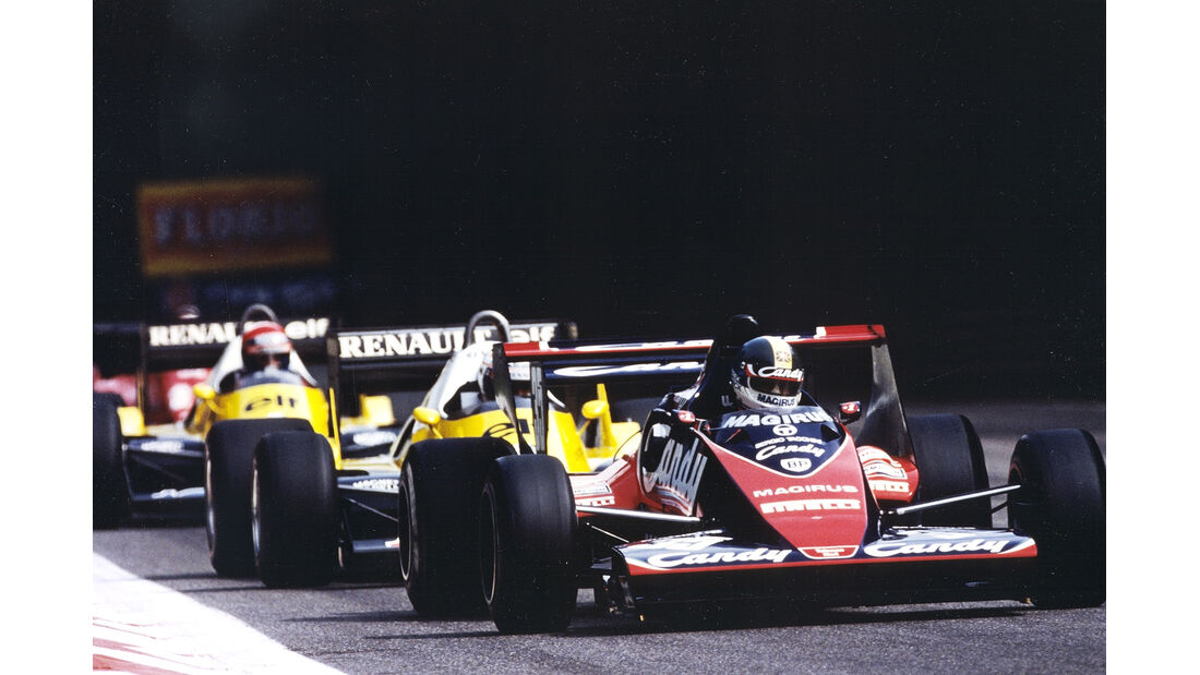 Toleman TG183B - Formel 1 - 1983