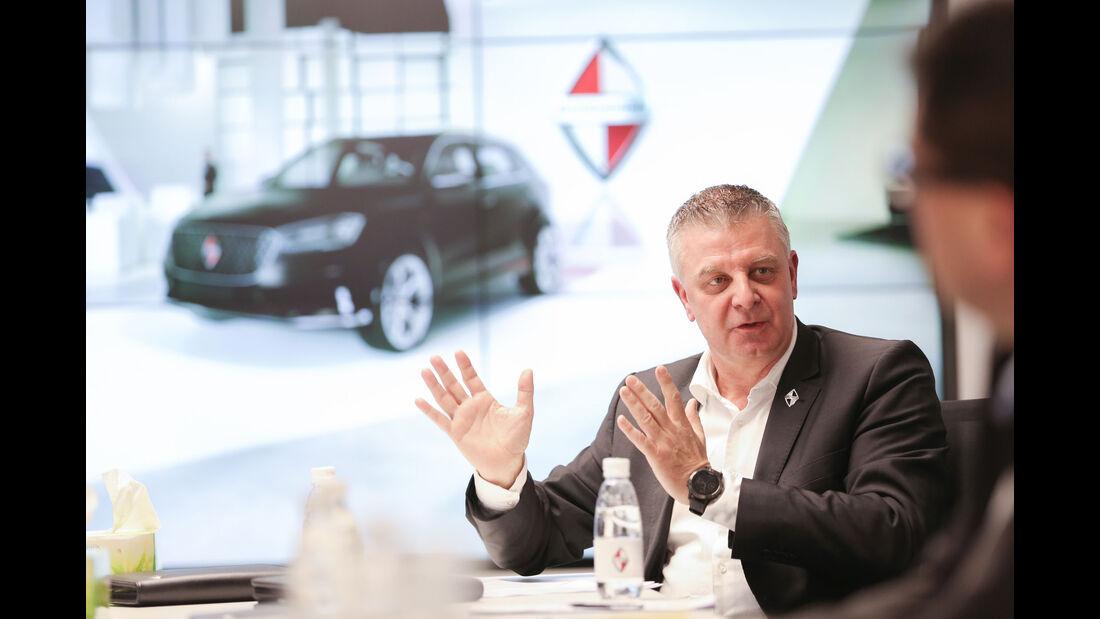 Tom Anliker, Vicepresident Marketing Borgward Group AG