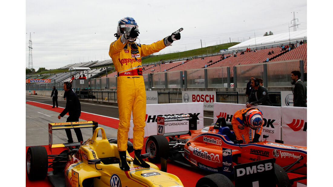 Tom Blomqvist - Formel 3 EM - Budapest