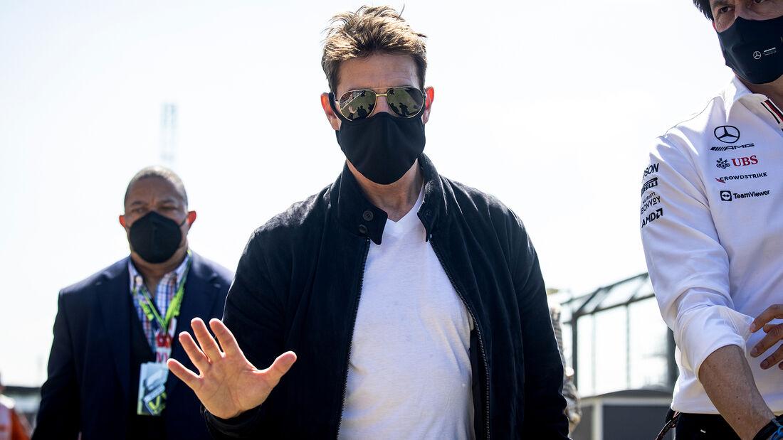 Tom Cruise - Formel 1 - Silverstone - GP England 2021