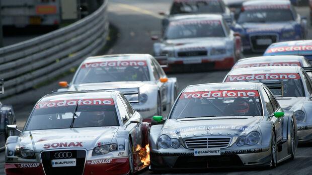 Tom Kristensen - Audi - Gary Paffett - Mercedes - DTM - Norisring 2005