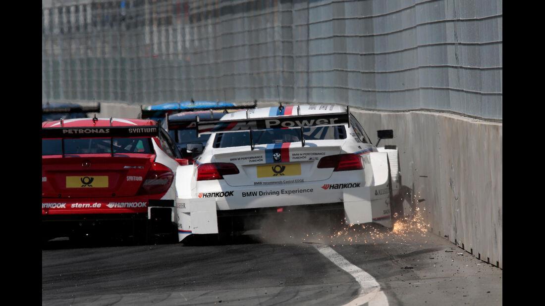 Tomczyk - DTM Norisring - Crash - 2013