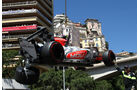 Tonio Liuzzi Crash GP Monaco 2011