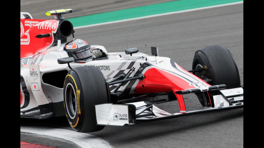 Tonio Liuzzi GP Deutschland 2011 Noten