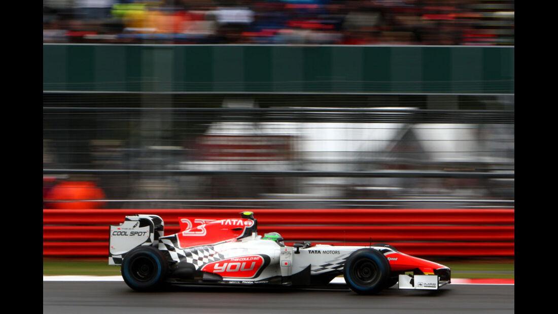 Tonio Liuzzi GP England 2011