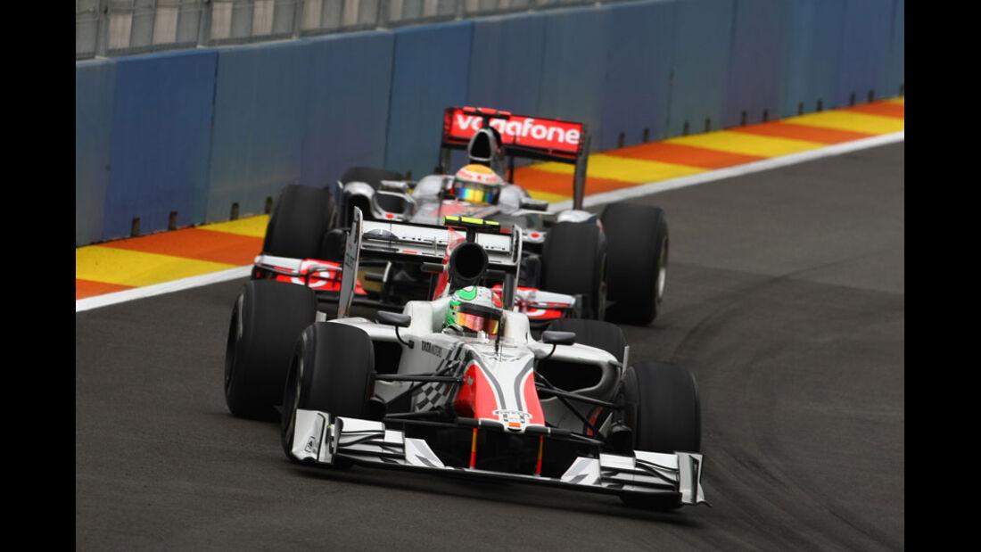 Tonio Liuzzi - GP Europa Valencia 2011