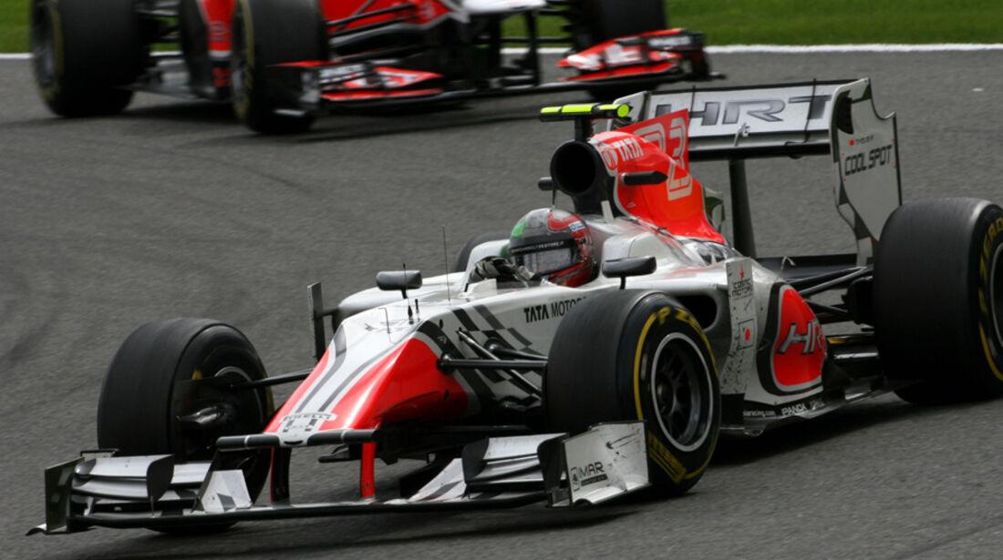 Tonio Liuzzi Hispania GP Belgien 2011