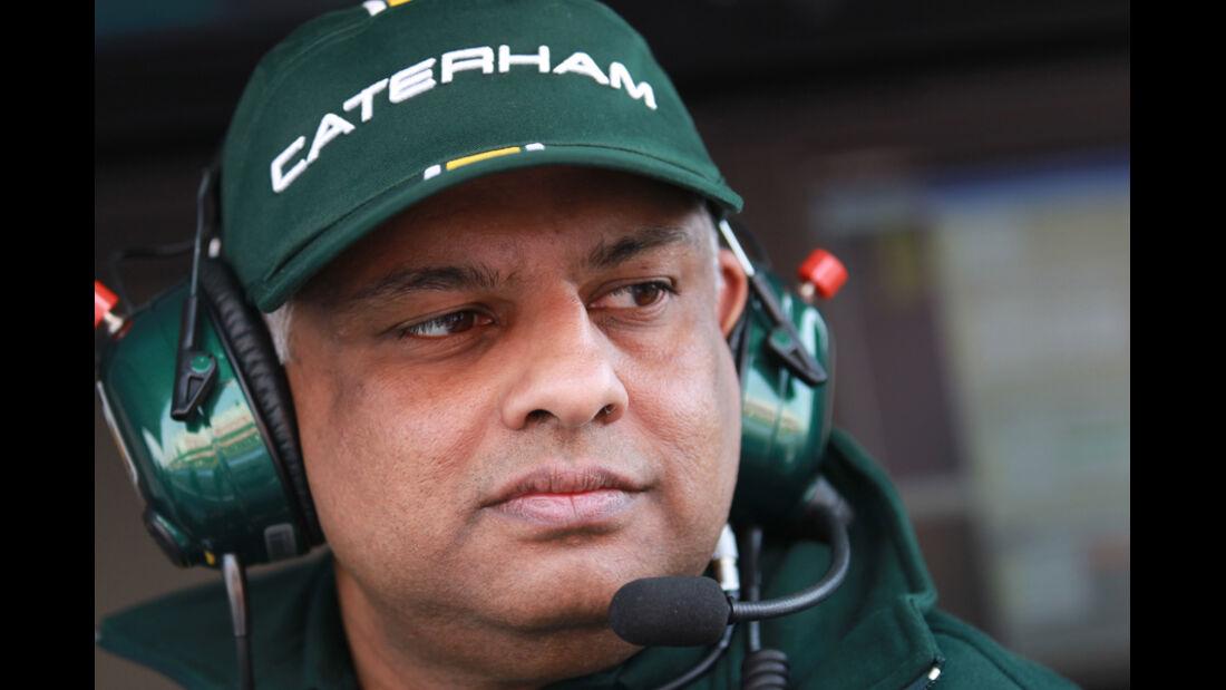 Tony Fernandes - Caterham - Formel 1-Test Barcelona - 4. März 2012